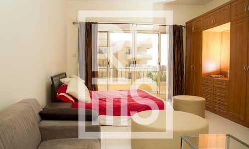 Studio for Sale in Al Hamra Village, Ras Al Khaimah - Fully furnished Studio in The Golf Apartments