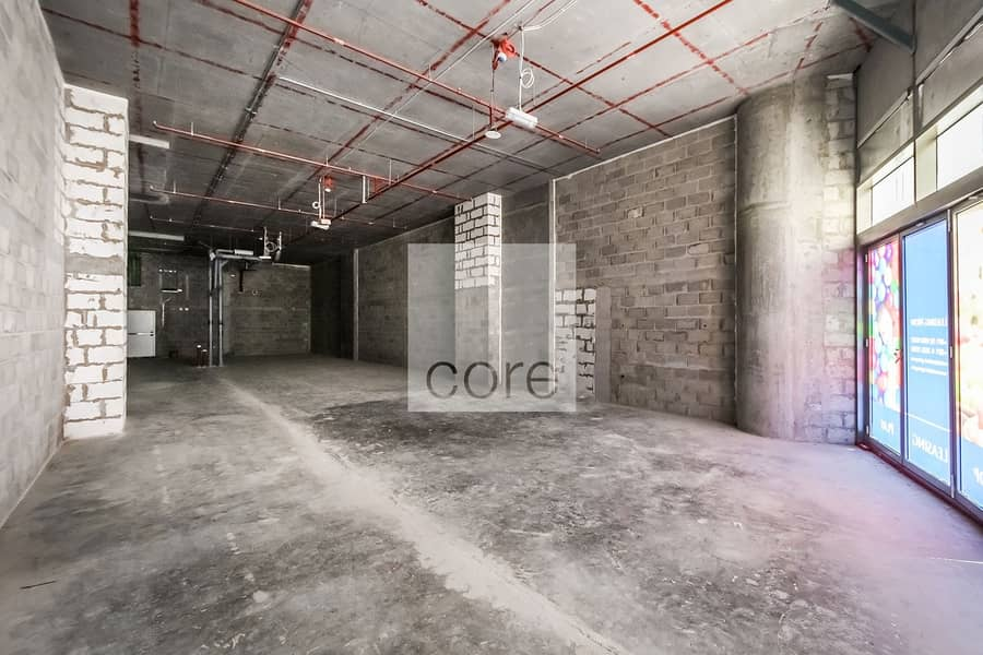 Shell and Core Retail Space | Low Floor