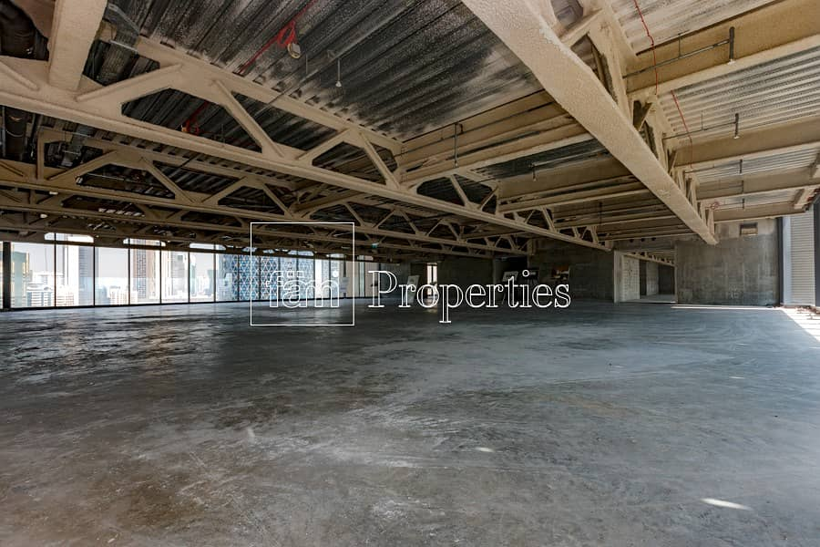 2 Shell and Core Full Floor in Index Tower