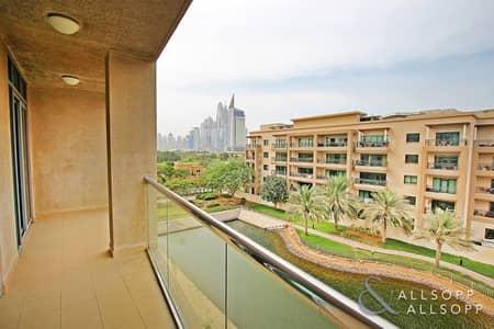 فلیٹ 2 غرفة نوم للبيع في ذا فيوز، دبي - Canal and Golf Course View | Vacant Soon