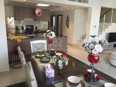 3 Bedroom Villa for Rent in Al Samha, Abu Dhabi - Brandnew 3BR TH+ Huge backyard in Reef 2
