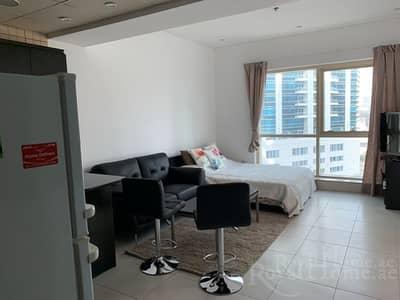 Studio for Rent in Dubai Marina, Dubai - Beautifully & elegant  furnished studio 57000AED 1 cheque