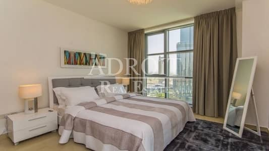 3 Bedroom Apartment for Rent in Downtown Dubai, Dubai - Burj and Fountain View | Luxury 3BR Fully Furnished Apt @ Standpoint Tower