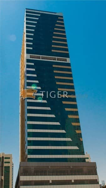 2 Bedroom Apartment for Rent in Al Taawun, Sharjah - 2Br in Al Rasheed 3 Tower - Brand New - Direct from the Developer