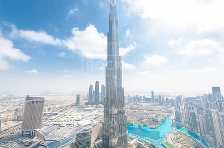 3 Bedroom Apartment for Rent in Downtown Dubai, Dubai - High Floor! 3-Bed Burj Khalifa in Downtown