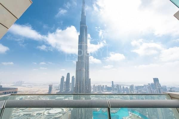 2 High Floor! 3-Bed Burj Khalifa in Downtown