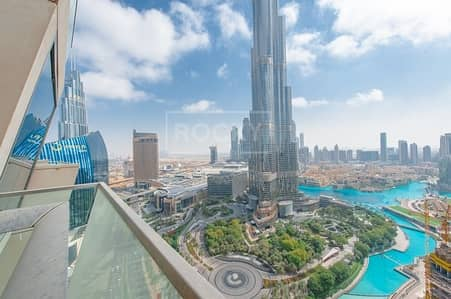 Brand New 3-Bed Burj Khalifa in Downtown