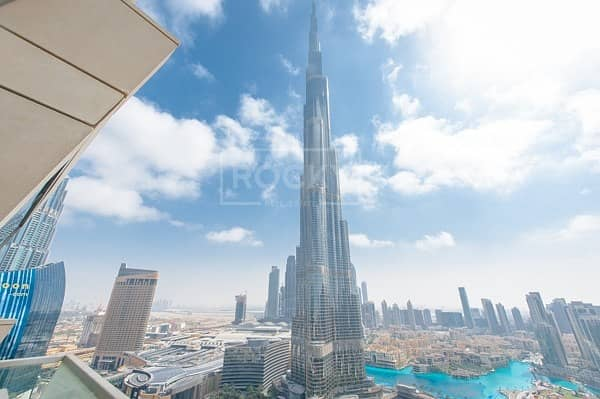 2 Brand New 3-Bed Burj Khalifa in Downtown