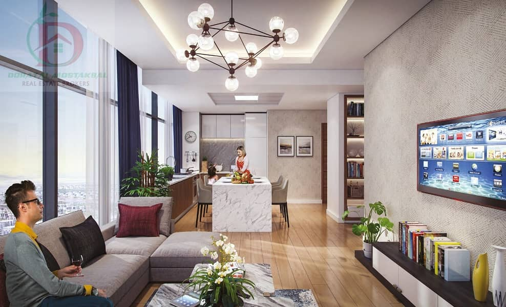 2 Starts at 480K! Own your apartment in the heart of Dubai