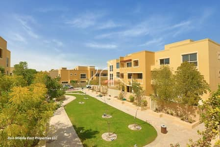 3 Bedroom Townhouse for Sale in Al Raha Gardens, Abu Dhabi - Single Row 3BR TH Type A with Big Garden