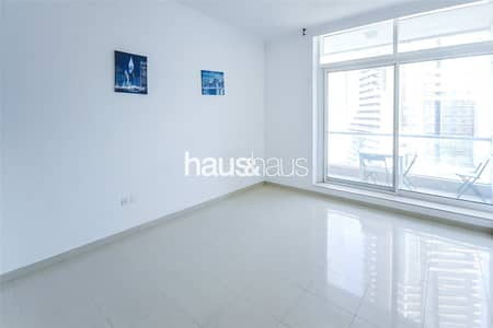 Studio for Rent in Dubai Marina, Dubai - Botanica Tower || Unfurnished || Balcony