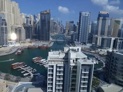 2 Bedroom Flat for Sale in Dubai Marina, Dubai - Negotiable|Vacant|Marina View|High Floor