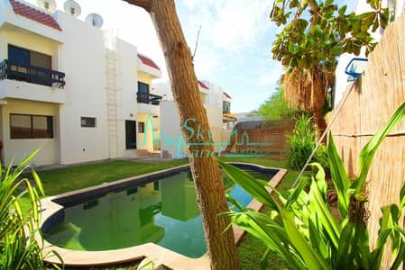 5 Bedroom Villa for Rent in Jumeirah, Dubai - LOVELY 5BED+MAID'S WITH PRIVATE POOL AND GARDEN IN JUMEIRAH 3