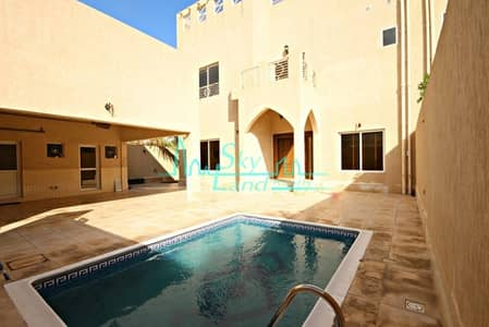5 Bedroom Villa for Rent in Umm Suqeim, Dubai - MODERN 5 BEDROOM+MAID'S+DRIVER'S SEMI DETACHED VILLA WITH PRIVATE POOL FOR RENT