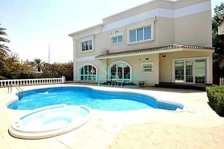 5 Bedroom Villa for Rent in Jumeirah, Dubai - AMAZING 5 BED+M VILLA WITH BIG GARDEN AND POOL IN JUMEIRAH 1