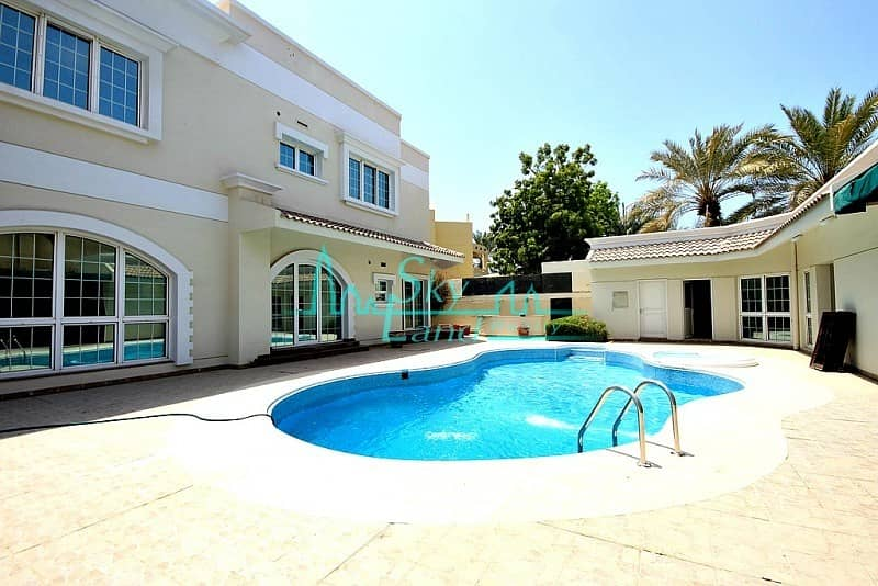 2 AMAZING 5 BED+M VILLA WITH BIG GARDEN AND POOL IN JUMEIRAH 1