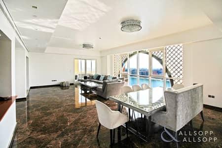 فلیٹ 3 غرف نوم للبيع في نخلة جميرا، دبي - Spacious Three Bedroom | Full Marina View