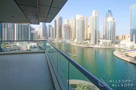 3 Bedroom Apartment for Rent in Dubai Marina, Dubai - Entire View Of The Marina   3 Bed + Maids