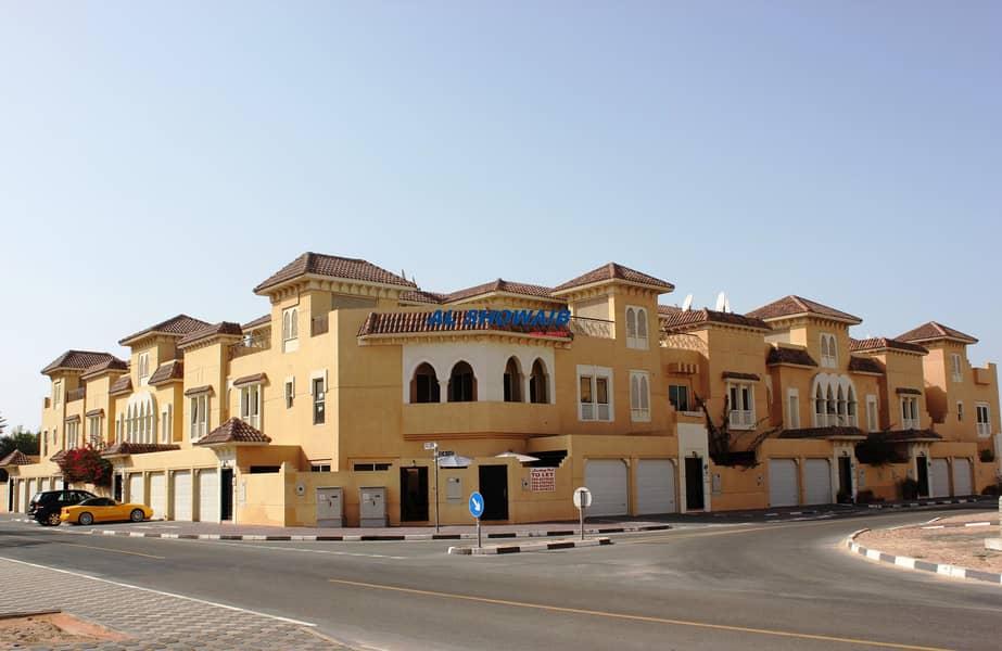 2 Spacious 4 Br viIla with pool behind spinneys Al Safa 1
