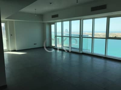 2 Bedroom Flat for Rent in Corniche Road, Abu Dhabi - BRAND NEW Tower, Full sea view 2 bed flat , Bay Tower