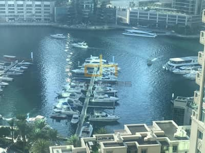 2 Bedroom Flat for Rent in Dubai Marina, Dubai - 2 bed + Study I Marina & Sea view I Murjan Emaar 6