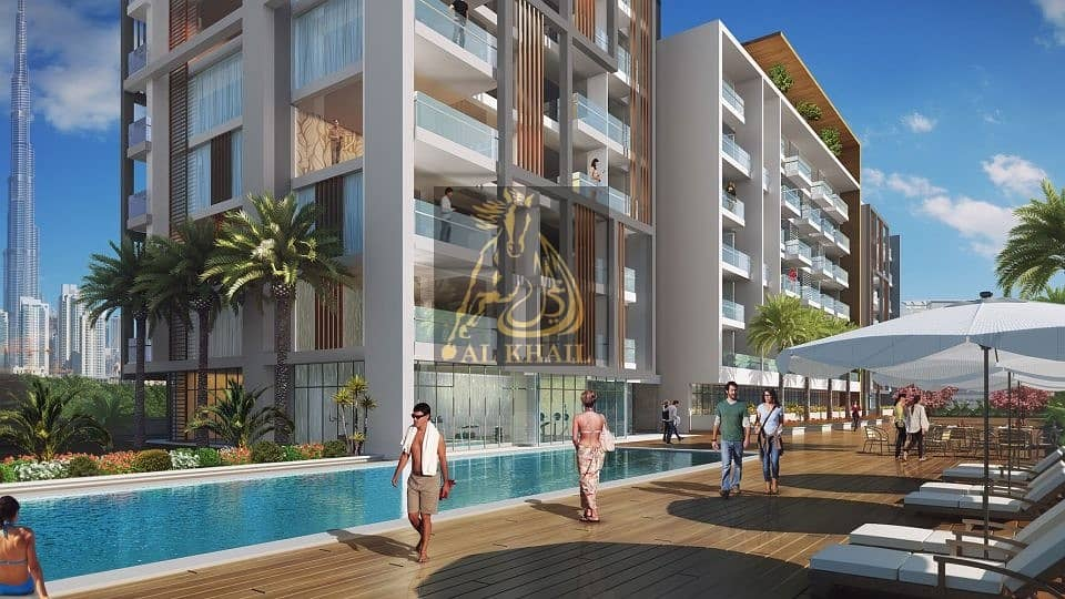 2 Large Studio Apartment in Meydan  Only 1% Booking  50/50 Payment Plan