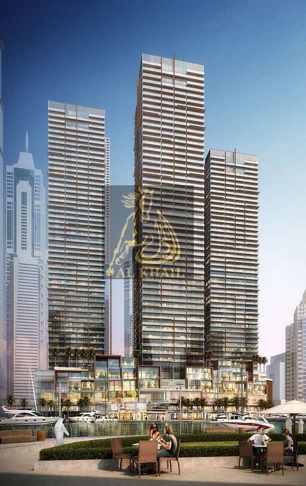 Stylish 1BR Apartment in Dubai Marina - 30/70 Payment Plan - Prime Location!