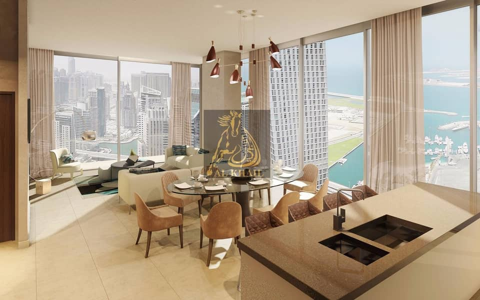 2 Stylish 1BR Apartment in Dubai Marina - 30/70 Payment Plan - Prime Location!