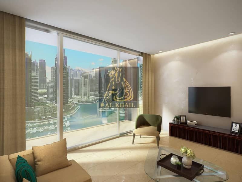 2 10% DP ONLY! Wide 2BR Apartment in Dubai Marina - 30/70 Payment Plan