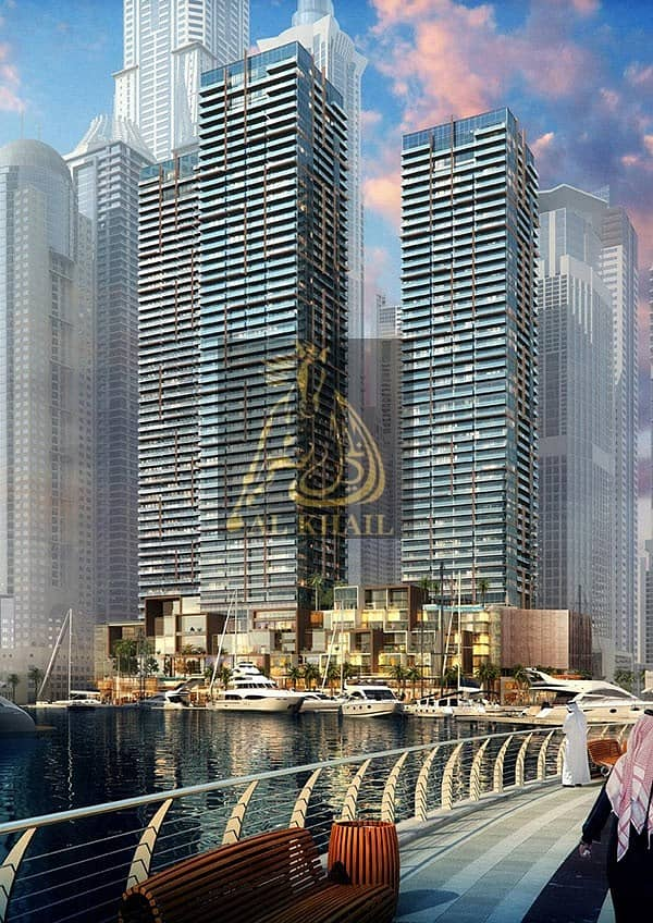 10 10% DP ONLY! Wide 2BR Apartment in Dubai Marina - 30/70 Payment Plan