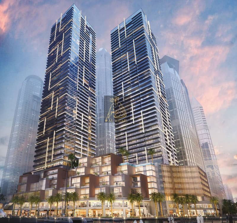 2 Ready Exquisite 3BR Apartment for sale in Dubai Marina | Easy Payment Plan with 2 Years Post Handover