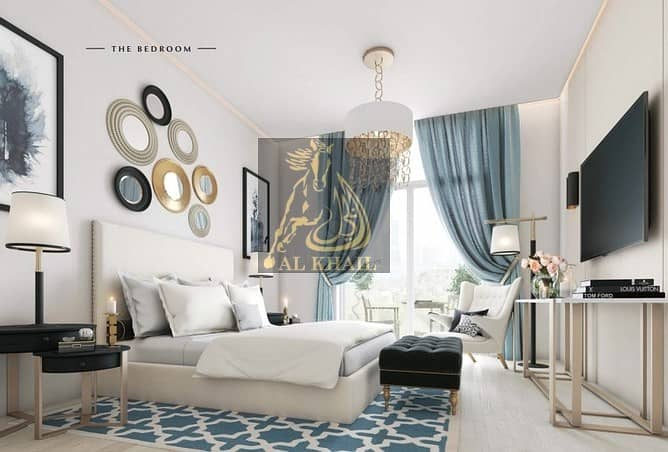 2 Furnished High-end 1BR Service Apartment in Al Furjan  30/70 Payment Plan
