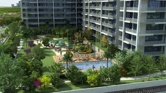 Stylish Ready 1BR Apartment for sale in Dubai Sports City | Affordable Price | Golf Course View