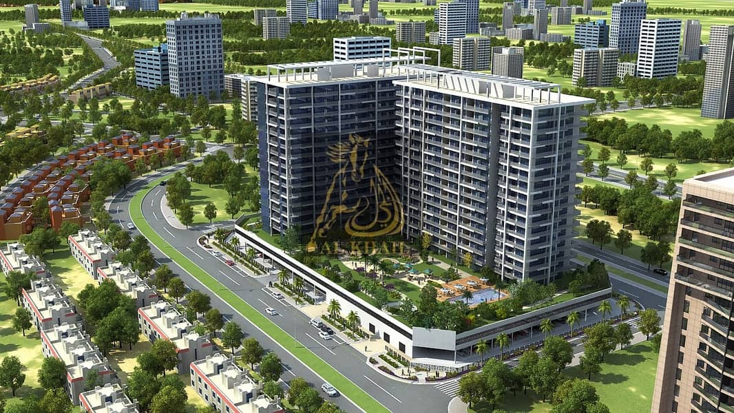 9 Stylish Ready 1BR Apartment for sale in Dubai Sports City | Affordable Price | Golf Course View