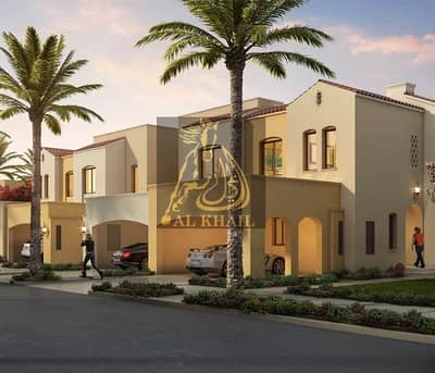 3 Bedroom Townhouse for Sale in Serena, Dubai - Only AED 1.34M - 10% Down Payment - 2BR + Maids Room Mediterranean-inspired Townhouse for sale in Serena DubaiLand
