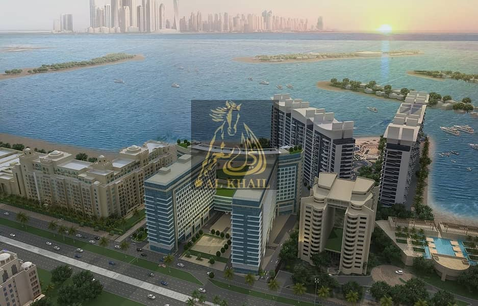 2 Luxury 1BR Apartment for sale in Palm Jumeirah | Easy Payment Plan with 5% Down Payment