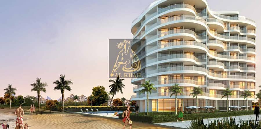 2 FEW UNITS LEFT! 20/80 Payment Plan - Luxury2-BR Serviced Apartment in Palm Jumeirah