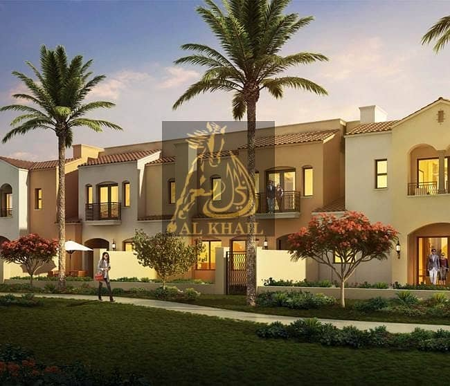 2 Only 10% on Booking  3BR Elegantly Designed Townhouse for sale in Serena Dubailand  Pay 60% On Handover