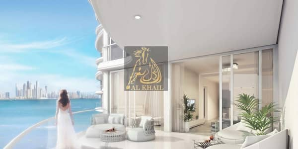 2 Bedroom Apartment for Sale in Palm Jumeirah, Dubai - BEST LOCATION! 1BR Luxury Serviced Apartment - 5% Booking Fee Only  20/80 Payment Plan