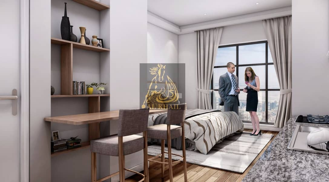 2 Lavish Studio Apartment in Al Furjan  50/50 Payment Plan  Best Location!