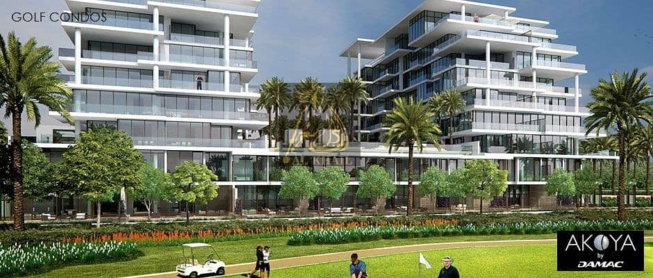 9 BIG DISCOUNT! Ready 3-BR Hotel Apartment for sale in DAMAC Hills | Furnished | On Payment Plan
