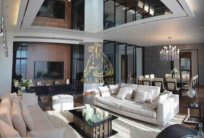 2 Fully Furnished - Ready to move Wide 6BR Luxury Villa in Damac Hills  Payable over 2years