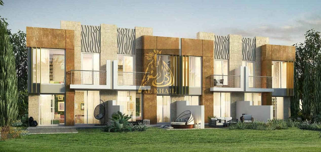 9 Lavish 3BR Villa for sale in Akoya Oxygen | Only 7% Down Payment with 1 Year Post Handover