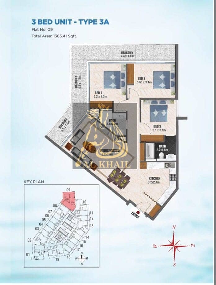 2 3BR Apartment for sale in Business Bay  Best Price - Easy Payment Plan - Pay 1% Monthly w/ Post-Handover Payment Plan