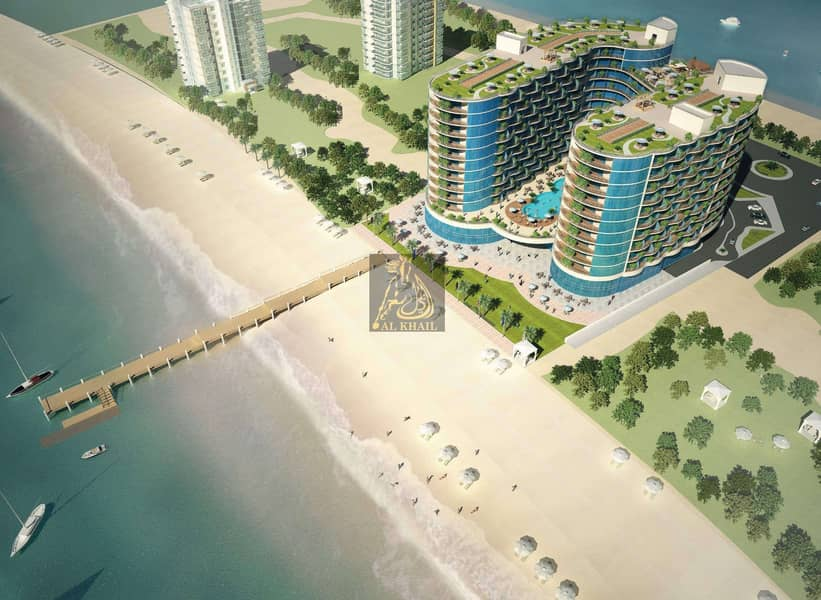 Direct Beach Access | Luxury 2BR Hotel Apartment for sale in Al Marjan Island | Flexible Payment Plan with Post Handover
