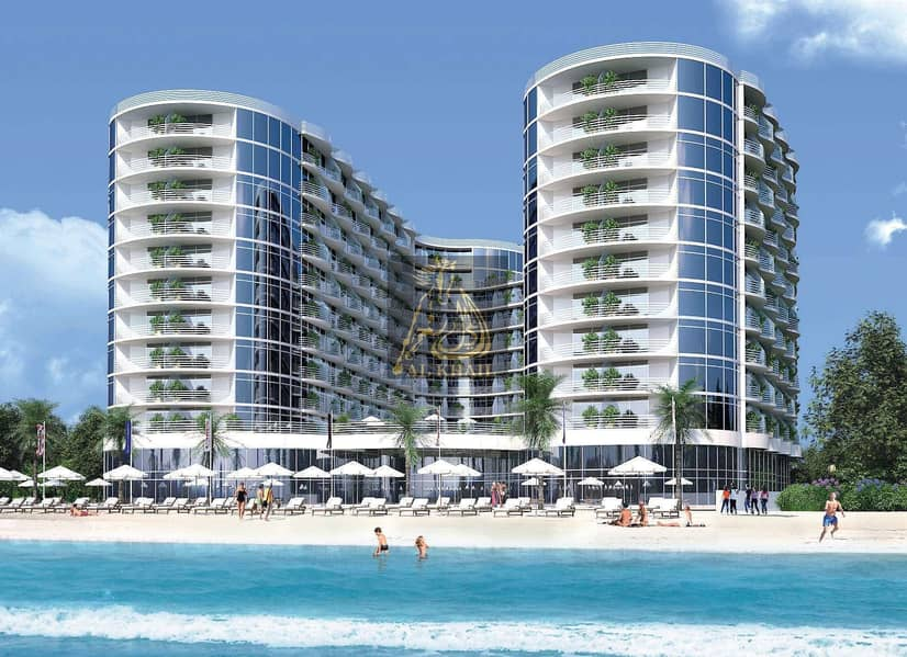 2 Direct Beach Access | Luxury 2BR Hotel Apartment for sale in Al Marjan Island | Flexible Payment Plan with Post Handover
