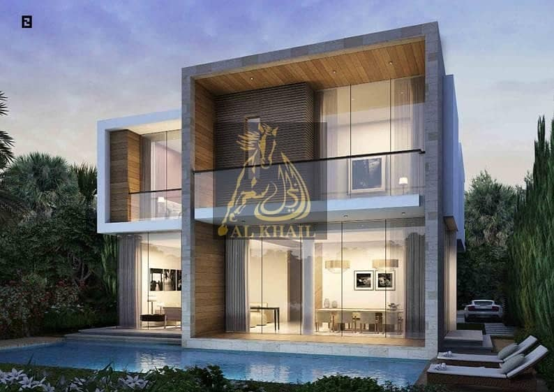 3-Br Furnished Villas at DAMAC Hills with Golf Course Views AED 2,500,000