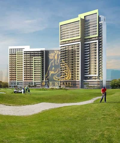 1 Bedroom Flat for Sale in DAMAC Hills (Akoya by DAMAC), Dubai - Special Offer! Price Discounted  1BR Apartment in Damac Hills Pay 1% Monthly & Pay 50% On Handover
