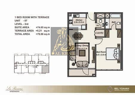 11 Pay 50% On Handover w/ 5% Booking Fee  2BR Open Space Apartment in JVC