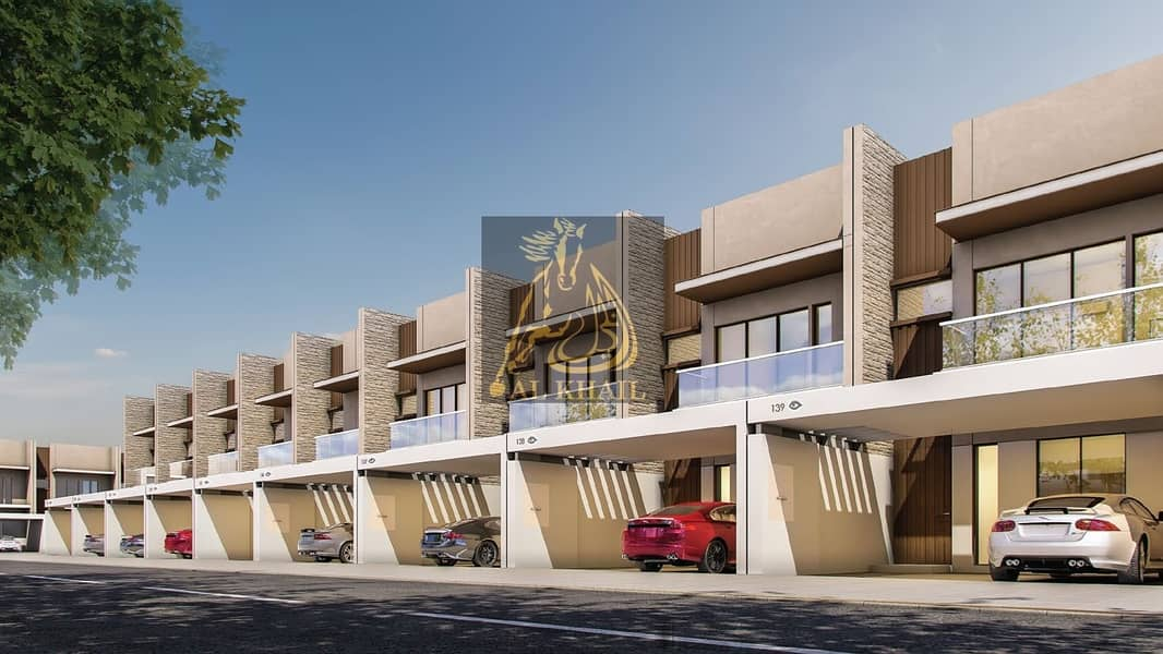 Exquisite 4BR Townhouse for sale in Meydan | Flexible Payment Plan | Only 5% Down Payment | Affordable Price